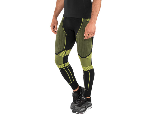 X-Bionic Effektor Power OW Long Pants Herre black/yellow